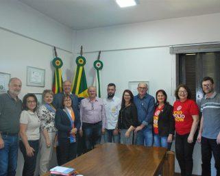 Prefeito Municipal em exercício recebe visita do Rotary