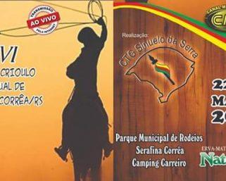 XVI Rodeio Crioulo Estadual de Serafina Corrêa