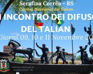 XXII Encontro Nacional dos Difusores do Talian – Invito