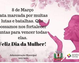 Oito de Março: Dia Internacional da Mulher