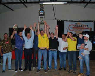 Premiados os times ganhadores do Campeonato Integração Rural e Veteranos