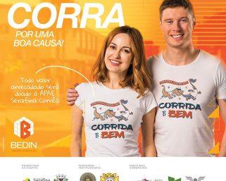 CORRIDA DO BEM BUSCA AUXILIO PARA A APAE DE SERAFINA CORRÊA