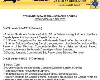 XI CAVALGADA DA MULHER ACONTECE NO PRÓXIMO FINAL DE SEMANA