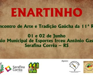 SERAFINA CORRÊA RECEBE O ENARTINHO DA 11ª RT