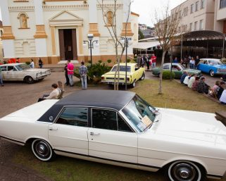 Encontro de Carros Antigos movimentou Serafina Corrêa