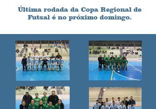 Não perca! Participe da última rodada da Copa Regional de Futsal!