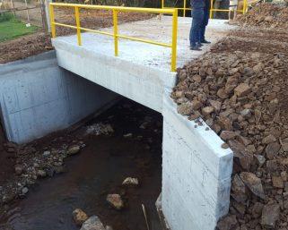 Conclusão da nova ponte na Capela São João possibilita maior segurança e trafegabilidade
