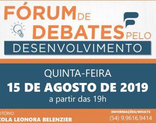 Empreendedorismo será assunto em Fórum de Debates