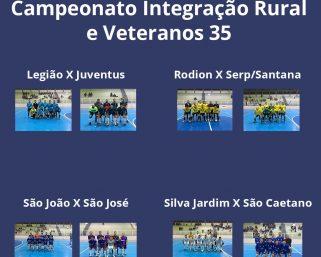 Semifinal do Campeonato de Integração Rural e Veteranos 35