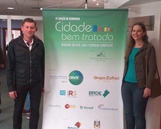 Secretaria de Meio Ambiente participa do 8º Seminário Cidade Bem Tratada