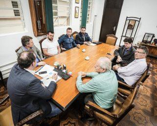 Bianchet reúne-se com o Secretário da Agricultura do Estado