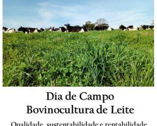 Dia de Campo Regional movimentará Bovinocultores de Leite