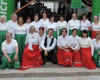 Grupo de dança serafinense participa de Festival Internacional de Folclore
