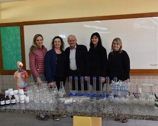 Serafina Corrêa investe em Laboratório de Ciências para escolas