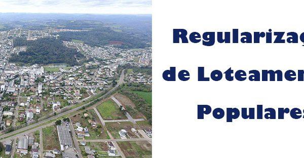 Moradores dos Loteamentos Populares devem regularizar pendências