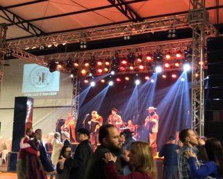 Clicks do Baile Show com o Grupo Silhueta Campeira, da noite de ontem, 18 de setembro, no Acampamento Farroupilha.
