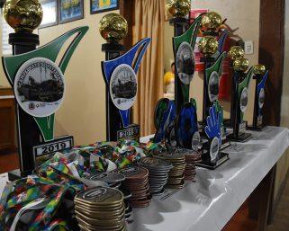 Jantar de confraternização marcou a final do Campeonato de Integração Rural e Veteranos 35