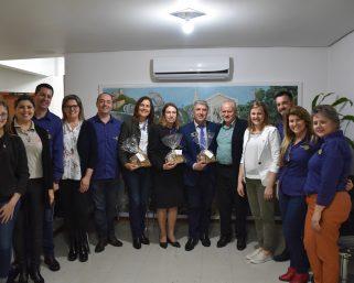 Governador do Rotary Club visita Serafina Corrêa