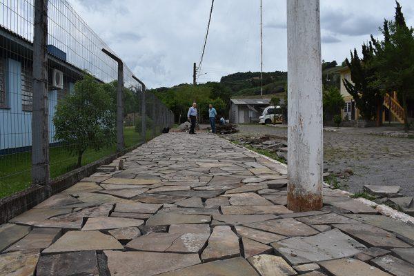 Passeio Público é construído em parceria com escola