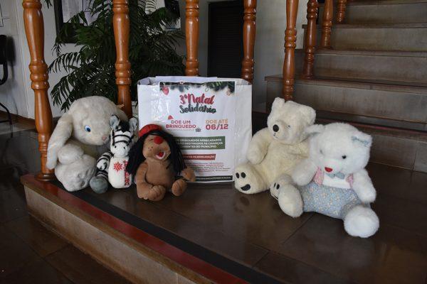 3º Natal Solidário objetiva arrecadar brinquedos