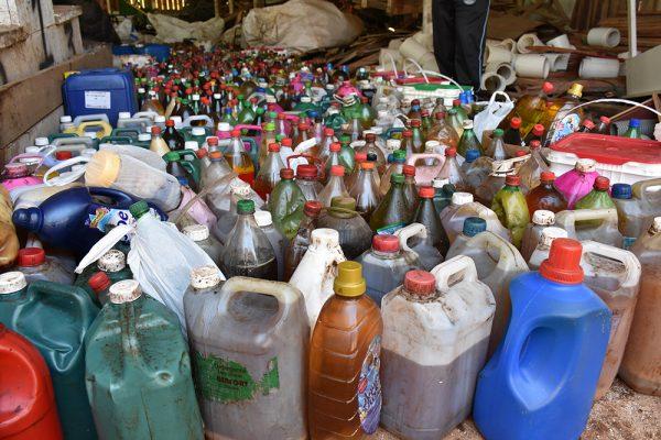 Aproximadamente 10 mil litros de óleo vegetal saturado foram coletados através de parceria entre Escolas e Secretaria de Meio Ambiente