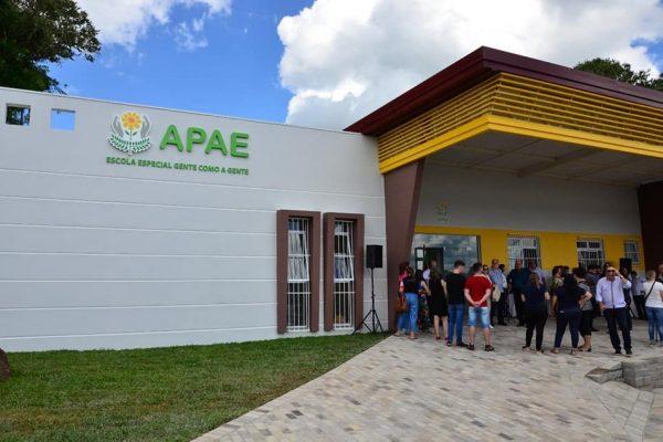 APAE de Serafina Corrêa inaugura nova sede