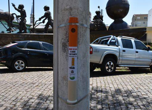 Secretaria de Meio Ambiente instalará bituqueiras em espaços públicos