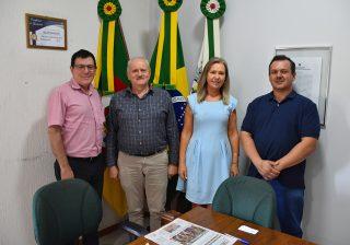 Superintendente do Banrisul visitou Serafina Corrêa