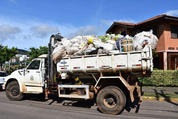 Coleta de lixo seco na zona rural inicia na próxima segunda-feira