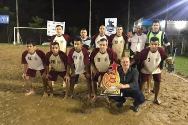 Campeonato Municipal de Futebol de Areia inicia dia 17