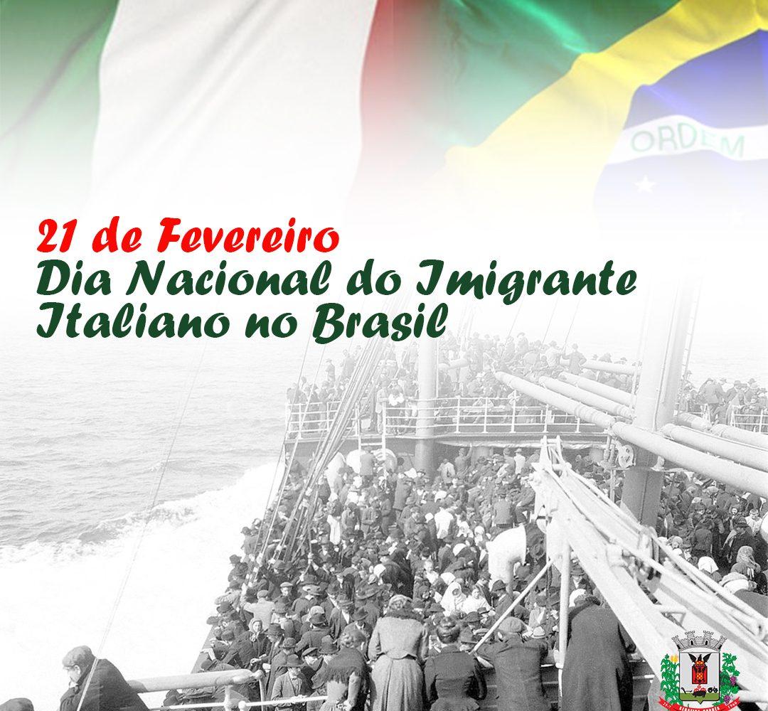 Dia Nacional do Imigrante Italiano