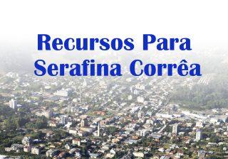 Serafina Corrêa é contemplada com recursos