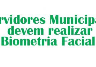 Servidores municipais com Plano de Saúde Tacchimed devem realizar biometria facial