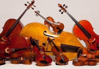 Comunicado: devolução de violinos e violoncelos