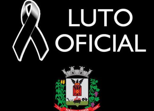 Luto oficial no município de Serafina Corrêa