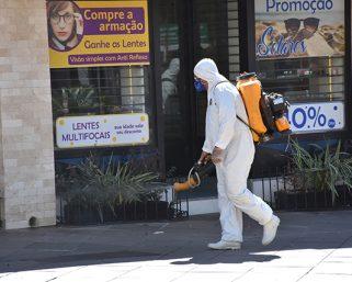 Sanitização em espaços públicos de Serafina Corrêa ocorre na próxima quarta-feira