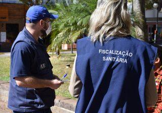 Fiscalização – Balanço das ações realizadas pela Vigilância Sanitária devido ao coronavírus