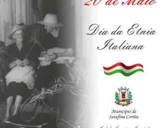 20 de Maio – Dia da Etnia Italiana no Rio Grande do Sul