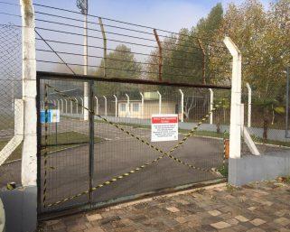Espaços públicos estão interditados