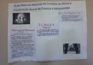 Rede Municipal de Educação desenvolveu atividades a distância para prevenção ao abuso e exploração sexual de crianças e adolescentes