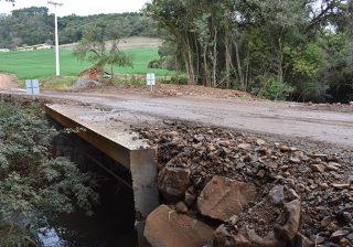 Nova ponte para unir Montauri e Serafina Corrêa
