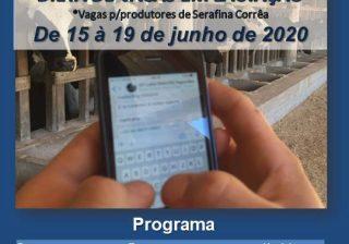 Emater oferece capacitação on-line para produtores de Serafina Corrêa