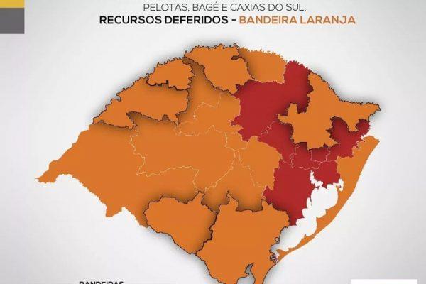Serafina Corrêa permanece com protocolos de bandeira vermelha segundo o mapa do Distanciamento Controlado
