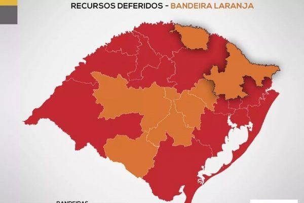 Serafina Corrêa adota protocolos de bandeira laranja a partir desta terça-feira