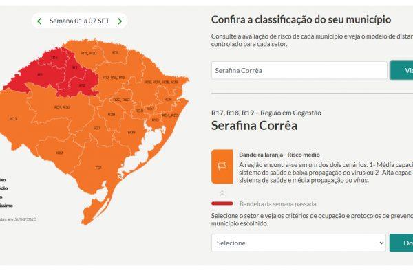 Serafina Corrêa retorna para Bandeira Laranja