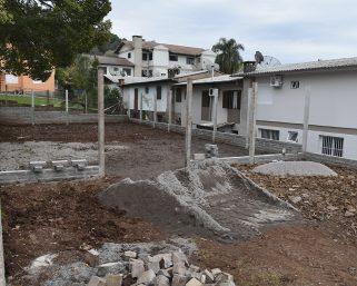 Novas quadras de areia para o bem-estar dos serafinenses