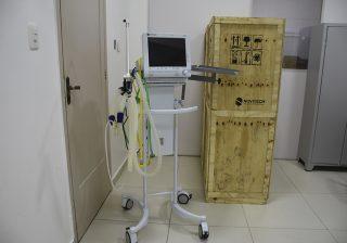 Novos respiradores para o Hospital Nossa Senhora do Rosário