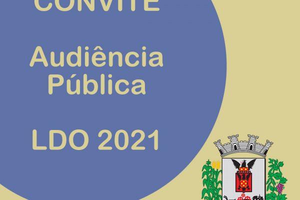 AUDIÊNCIA PÚBLICA – LDO 2021
