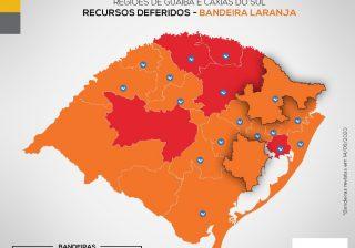 Serafina Corrêa retorna para de bandeira vermelha e seguirá protocolos de bandeira laranja
