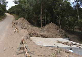 Reconstrução da ponte na Linha 9ª Moreira César está sendo concluída